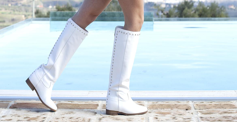 Silk-ò Boot White